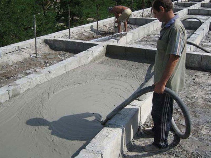 Construction foam concrete industrial technologies fci for Foam concrete construction