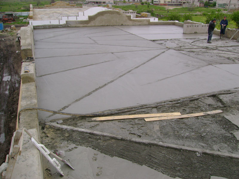Kherson construction foam concrete industrial for Foam concrete construction